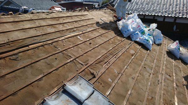 屋根 解体